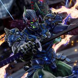 Yoshimitsu Soul Calibur 6 by ErmacEruErmac