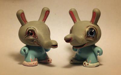 blue bunnyphants by JasonJacenko