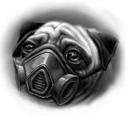 pug life by JasonJacenko