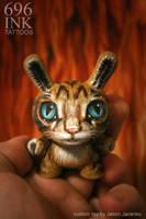 baby bunny cat by JasonJacenko