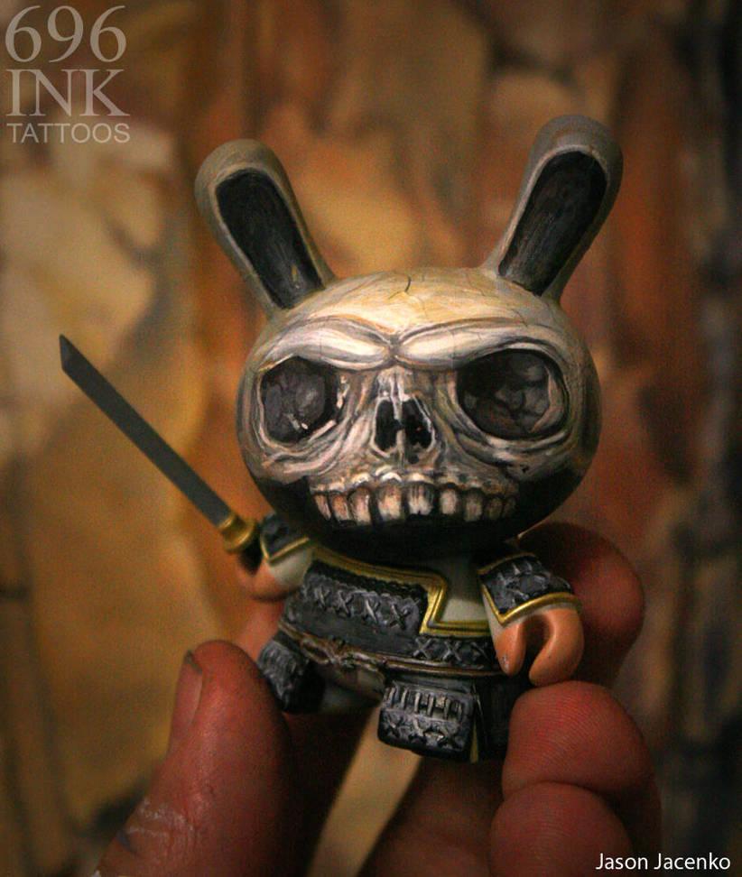 undead samurai dunny by JasonJacenko