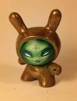 custom bronze dunny by JasonJacenko