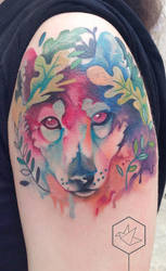 wolf by yadou