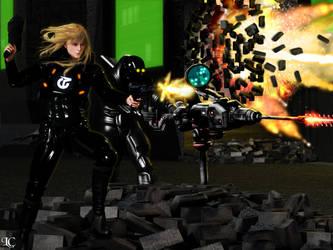 Omni Tek Assault Force by Lightcaster