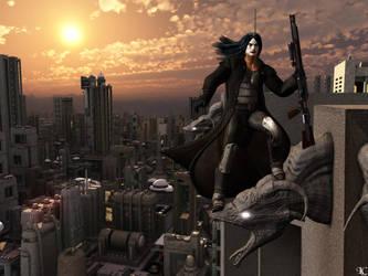 Above the City by Lightcaster