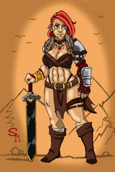 Dagna of the Scared Eye clan by SkechMaster22