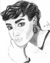 A.Hepburn by StickWilde