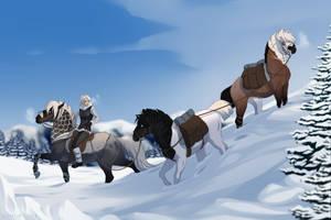 Winter Training by SkyOpium