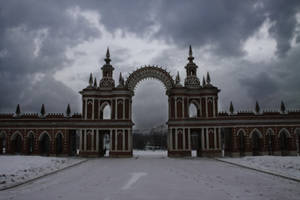 Palace gate by Michael-Rayne