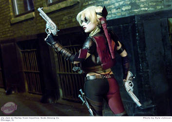 Harley Quinn Injustice: Gods Among Us by JiaJem