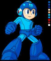- SSB4 Style - Mega Man HD Sprite by Availation