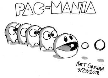 Pac-Mania by GrishamAnimation1