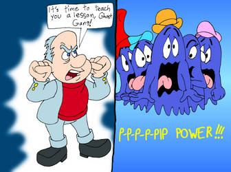 A!/P-M crossover: P-P-P-P-PIP POWER!!! by GrishamAnimation1