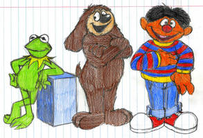 The Voices of Jim Henson by GrishamAnimation1