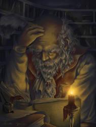 The Scholar by TheMinttu