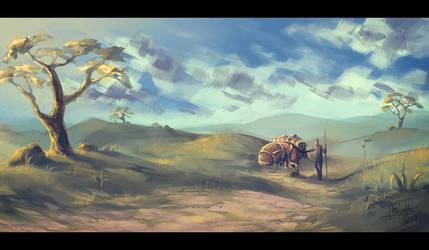 Grazelands Caravan by TheMinttu