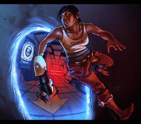 Portal 2 by TheMinttu