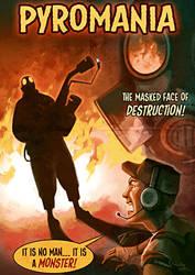 Pyromania: Movie poster by TheMinttu