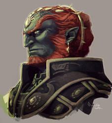 Ganondorf by TheMinttu