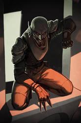 Dunmer assassin by TheMinttu
