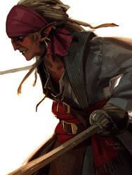 Pirate elf by TheMinttu