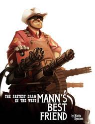 TF2 - A Mann's Best Friend by TheMinttu