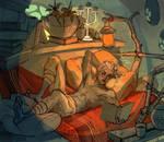 Morrowind abode by TheMinttu
