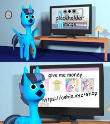 [COMMISSION] exploitable meme horse by ashieboop
