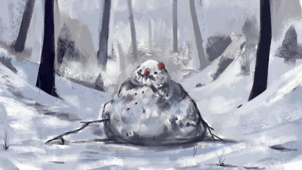 Snowman by A-ewi