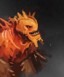 lava warrior by zerocelb