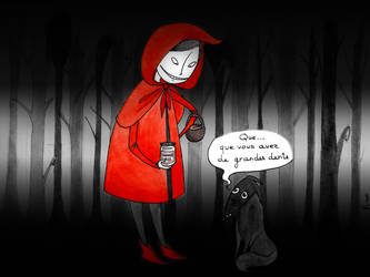 Defialacon ou The revenge of the Little Red Riding by Kiwi-Kwi