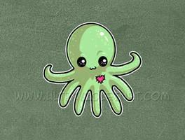 Lil Octopus by ultravioletbat