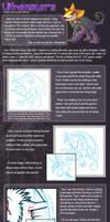 Pet Art Tutorial by ultravioletbat