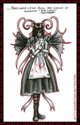 Bad Little Alice by ultravioletbat