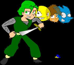 Legendo the Ninja by DBZSHONEN13