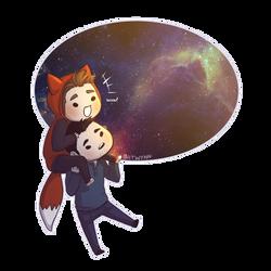 You are My Universe by Batwynn