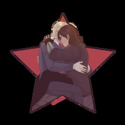 Stucky Hugs by Batwynn