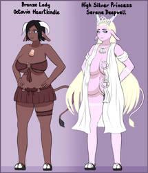 2 more cowgirls! by Milunatik