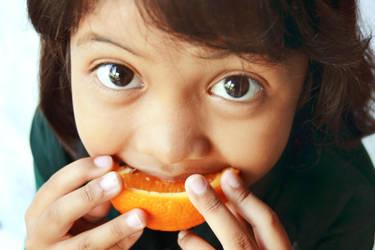 Orange Girl by PlanktonCreative