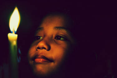 Gautama and The Candle by PlanktonCreative