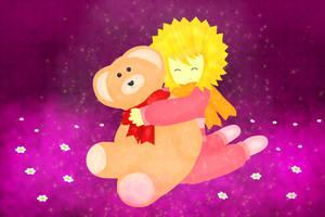 He loves that teddy ^^ by Yasiku