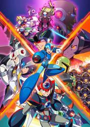 Megaman X legacy wallpaper #2 (B) by falconburst322