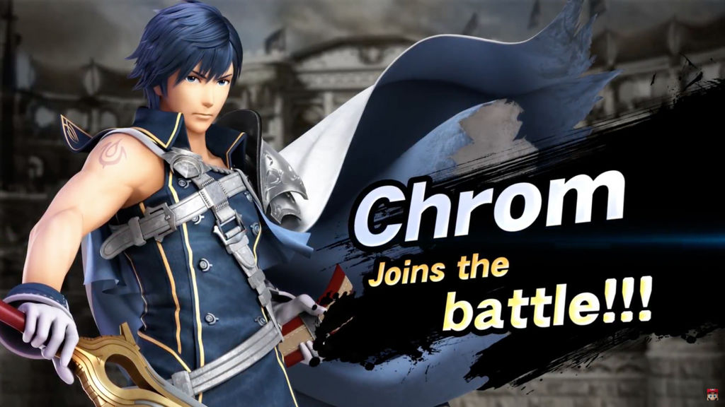 Smash Ultimate Chrom Wallpaper By Falconburst322 On Deviantart