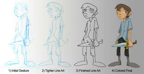 Jim Hawkins Step-by-Step by Zubby