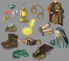 Exalted- Various Items by Zubby