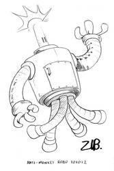 Anti Monkey Robo by Zubby