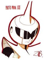 PAX East 2011- Proto Man BN by Zubby