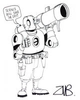 C2E2 2011- Atomic Robo 3 by Zubby