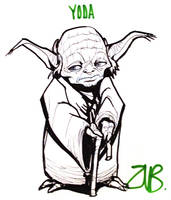 AHJ:Toronto - Yoda by Zubby