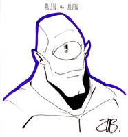 CCE2011- Allen the Alien by Zubby